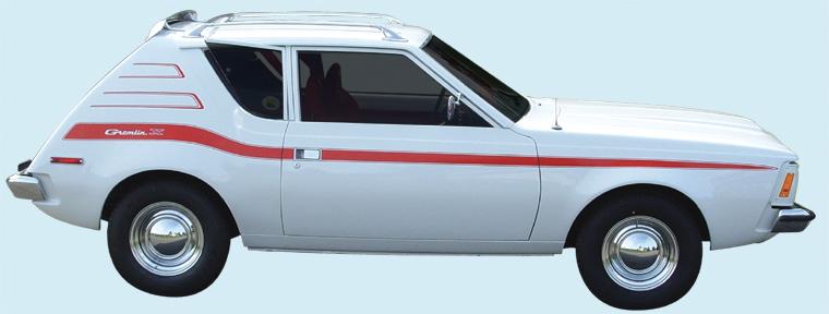 Phoenix Graphix 1973 Amc Gremlin X Decal Kit