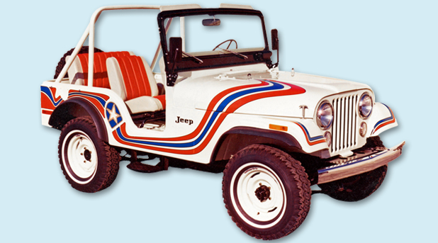 Phoenix Graphix 1973 Jeep Super Jeep Cj5 Decal Kit