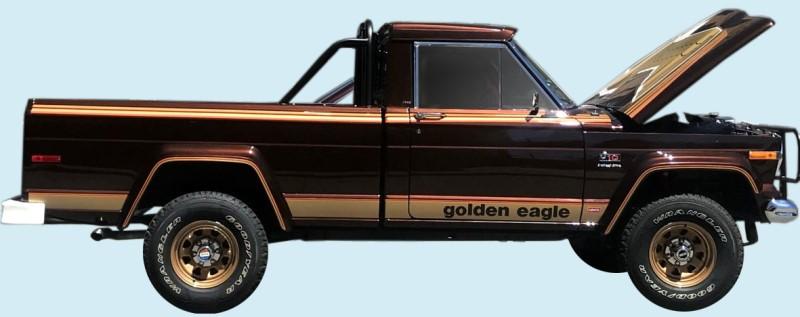 phoenix graphix 197779 jeep golden eagle j10 truck