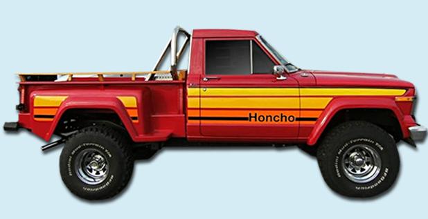 Phoenix Graphix 1979 1980 Honcho J10 Stepside Sportside ...