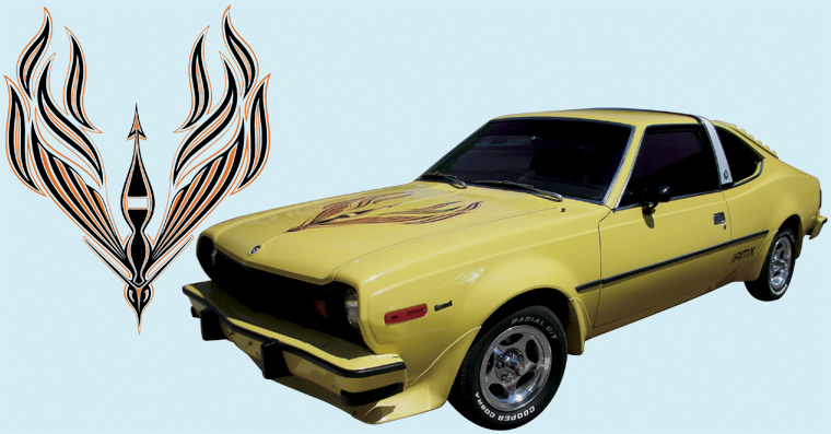 Dodge Charger Demon >> Phoenix Graphix 1977 AMC Hornet AMX Decal Kit