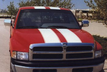 Rally Panel Truck Stripes