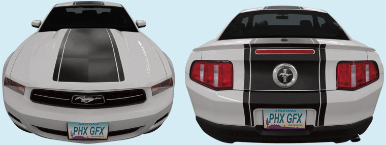 Phoenix Graphix 2010 12 Ford Mustang Oem Style Racing