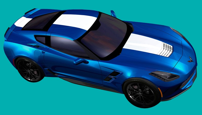 Phoenix Graphix 2017-19 Corvette C7 Grand Sport Wide-Body