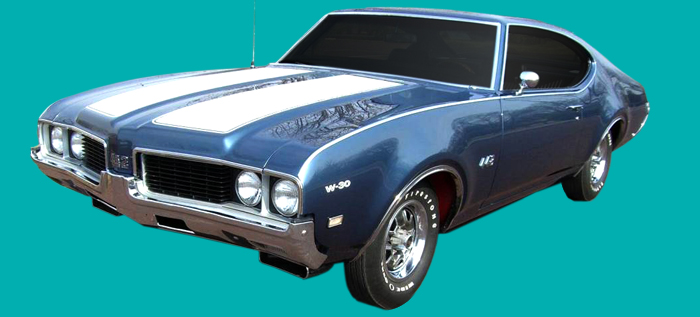 Phoenix Graphix 1969 Oldsmobile 442 W29 Decal Kit