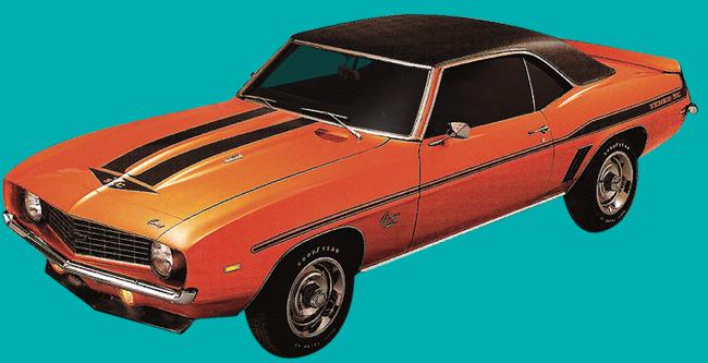 1969 Yenko Camaro Decal And Stripe Kit