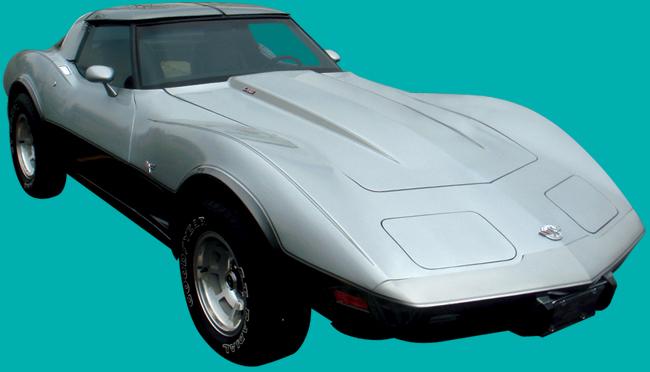 1978 Silver Anniversary Chevrolet Corvette C3 Decal And Stripe Kit