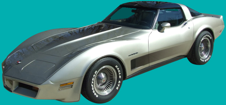 1982 Chevrolet Corvette C3 Collector's Edition Stripes Only Kit