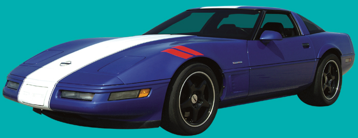 1996 Corvette C4 Grand Sport Stripe Kit