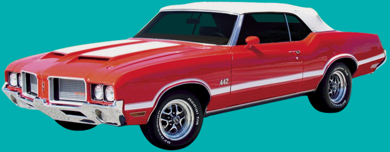 1970-72 OLDSMOBILE 442STENCIL KIT