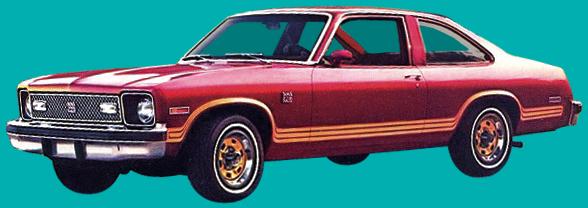 Phoenix Graphix 1977 79 Chevrolet Nova Rally Decal Kit