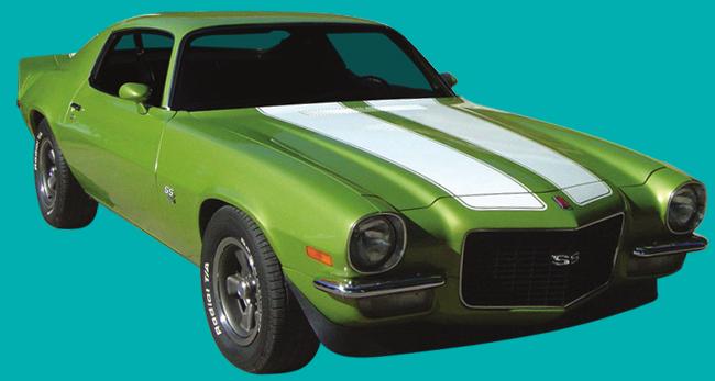 Mustang Z28 >> 1970-73 Camaro Z28 Stencil Kit