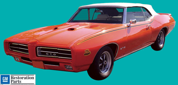 1969 Gto The Judge Decal And Stripe Kit