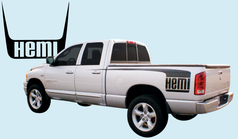 Phoenix Graphix 2004 05 Dodge Ram Hood Amp Side Hockeystick