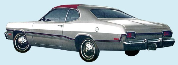 Phoenix Graphix 1976 Plymouth Silver Duster Decal Kit