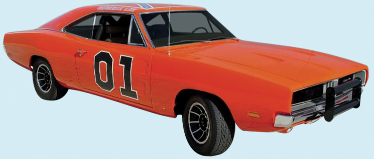 Phoenix Graphix 1969 Dodge General Lee Charger Decal Kit