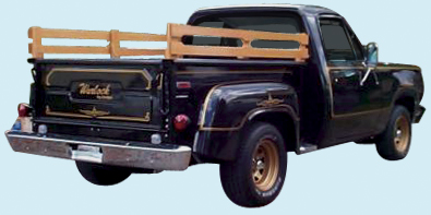 Phoenix Graphix 1976 78 Dodge Warlock Pickup Stripe Kit