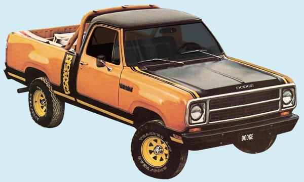Phoenix Graphix 1979 80 Dodge Macho Power Wagon Decal Kit