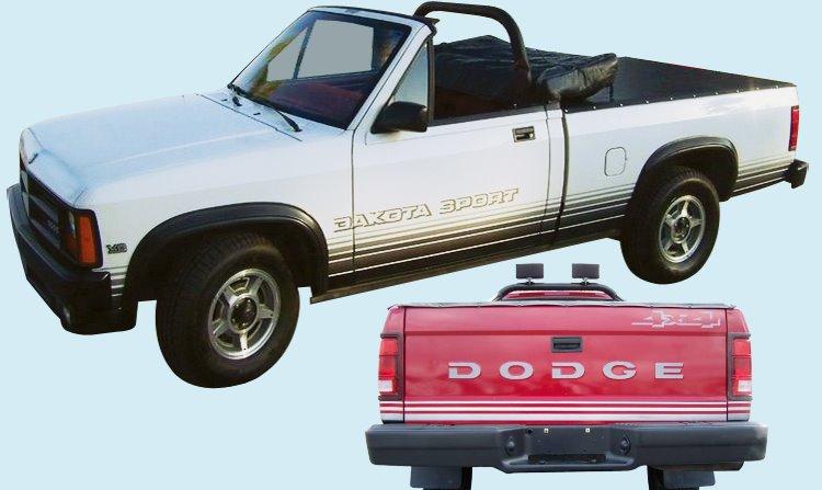 1988 89 Dodge Dakota Sport Truck