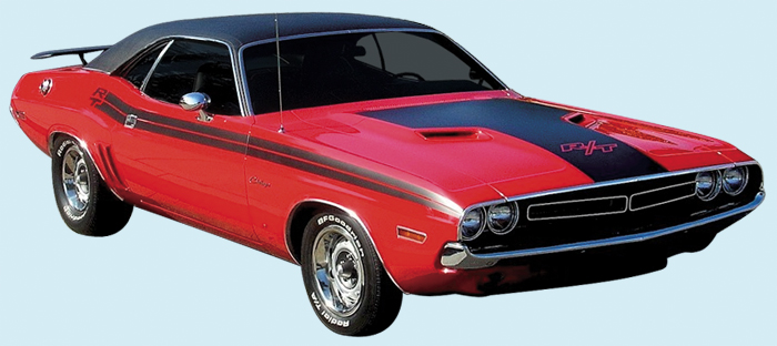 Phoenix Graphix 1971 Dodge Challenger R T Striping Kit