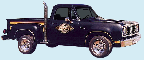 Phoenix Graphix 1978 Dodge Midnight Express Truck Decal Kit