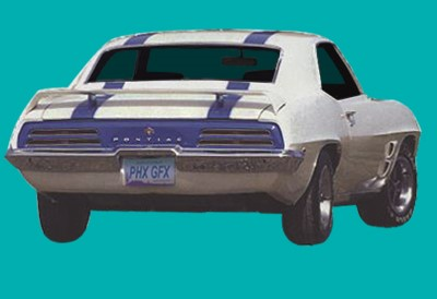 1969 Trans Am Decals And Stripe Kit