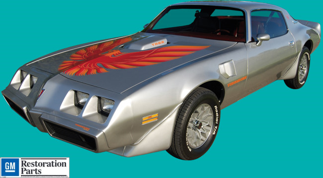 #pha.036101 Photo PONTIAC FIREBIRD TRANS AM T-TOP 1979