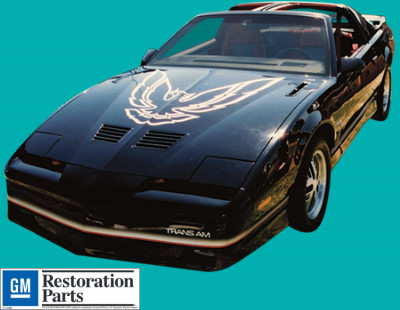 1987 Trans Am Decals And Stripe Kits